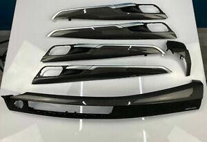 BMW OEM F16 F86 X6 M Performance Carbon interieuerblende set LHD