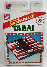 GREEK BOARD GAME MB MINI BACKGAMON BRAND NEW SEALED