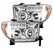 Recon 264194CL Toyota Tundra & Sequoia PROJECTOR HEADLIGHTS Clear/Chrome