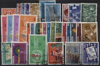 Svizzera - 1969/89 - Servizio - raccolta completa - usata