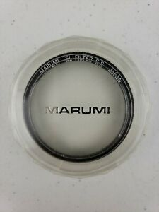 Marumi 58mm SL Filter CS Japan Photography Camera Lens Slip On Filter With Case