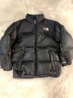 The North Face 600 Goose Down Boys Puffer Jacket Black Medium RARE