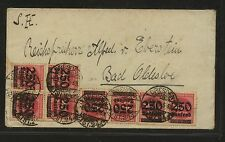 Germany  Dresden   inflation  cover  , local  use       KL0707