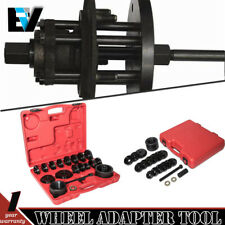 Wheel Drive Bearing Puller Adapter Press Kit Removal Install Tool + Carring Case