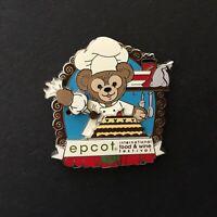 WDW Epcot International Food Wine Festival 2012 Duffy RetiredLE Disney Pin 92628
