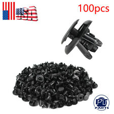 100pc Fender Splash Shield Clips Push Pin Fastener Retainer For Honda Accord