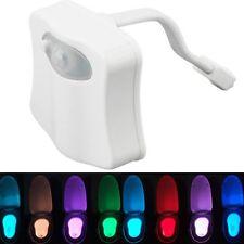 Lampada bagno wc tazza water toilette Led notte con sensore 8 colori diversi
