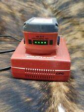 Hilti C 436 18 36 Volt Lithium Ion Charging Battery And Charger