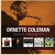 ORNETTE COLEMAN - 5CD ORIGINAL ALBUM SERIES (NEW & SEALED) Inc Free Jazz