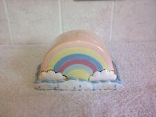 Ceramic Rainbow Butter Dish