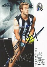✺Signed✺ 2012 COLLINGWOOD MAGPIES AFL Card ALAN TOOVEY