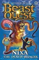 Nixa the Death-Bringer: Series 4 Book 1 (Beast Quest), Blade, Adam, Very Good Bo
