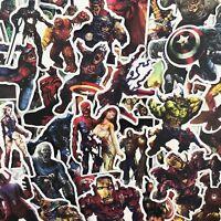 39 pcs Marvel Zombie Stickers Superheroes Stickerbomb Horror Cartoon Skateboard