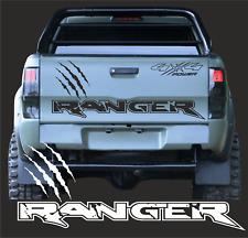 1 Ranger Kratzer Aufkleber 130cm 4x4 Pick UP Ranger 4 x 4 Passt für Ford 2AB F