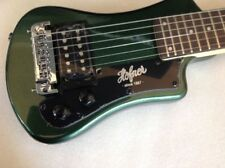 NEW HOFNER SHORTY METALLIC DARK GREEN ELECTRIC GUITAR WITH GIGBAG CASE HCT-SH-GR