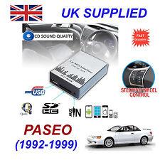 PASEO 1992-1999 MP3 SD USB CD AUX Input Audio Adapter Digital CD Changer Module