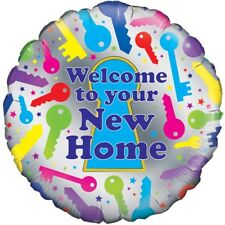 "1 X Welcome to Your Home 18"" / 45cm Helium Foil Balloon 228724P"