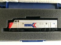 MODEL POWER AMTRAK  FP-7 PHASE II No 7450 DIESEL LOCOMOTIVE ALL METAL N SCALE