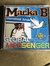 MACKA B- GLOBAL MESSENGER CD USA SELLER! OOP RARE REGGAE HARD TO FIND!! N. Mint!