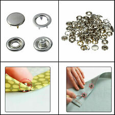 12mm Jersey Caps Snap Press Studs Fasteners Popper Nickle for Sewing Art & Craft