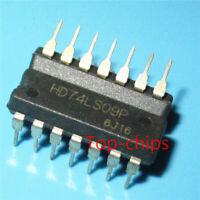10PCS HD74LS09P Encapsulation:DIP new