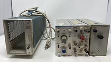 Tektronix Model Tm501 Am 503 Am 502 Current Probe Amplifier Untested