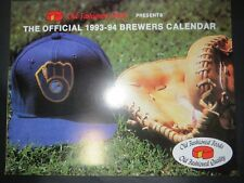 Milwaukee Brewers 1993 Team Calendar ROBIN YOUNT