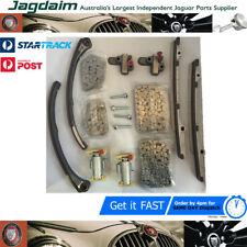 New Jaguar 4.2 5.0 V8 S-Type XK8 XJ8 XKR XJ Engine Timing Chain Kit HTK100 16PC