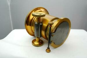 Brass Projector lens, beautiful condition, beautiful, Petzval type.