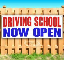Driving School Now Open Advertising Vinyl Banner Flag Sign Many Sizes