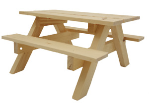 Mini Wooden Picnic Bench / Cake Stand