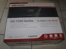 Nuevo Hikvision Turbo HD Seguridad DVR H.264 / DS-7200 Audio / #DS-7208HGHI