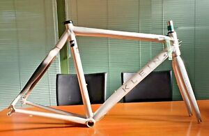 NOS KLEIN QUANTUM Q PRO size 54 alloy/carbon road frameset made in USA NEW