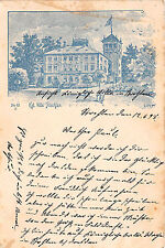 Strehlen Dresden Sachsen Villa Postkarte 1898
