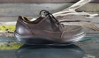 Dockers Mens Sz 10.5 M US Rocker Brown Leather Toning  Fitness Casual Shoes