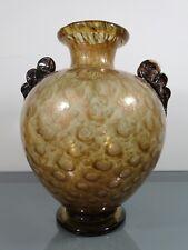 """Vase""""Aventurina"""",Ercole Barovier,Murano,Überfangglas,Luftblasen,Aventurinpulver"""