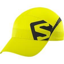 Salomon Unisexe XA Jogging Chapeau Casquette Visière Jaune Sport Respirant Léger