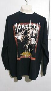 Morgoth cursed long sleeve T shirt death metal pestilence asphyx entombed vader