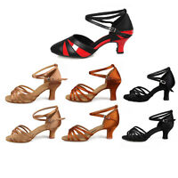 Promotion Ballroom Latin Dance Shoes for Women/Ladies/Girls/heeled Tango&Salsa