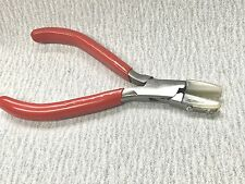 """FLAT NOSE PLIERS NYLON JAWS 5-3/4"""" NON MARRING JEWELRY PLIERS WIRE WRAPPING"""