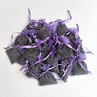 20 Lavender Bags Sachets Wardrobe Drawer Aromatic Repel Calming Air Fresh