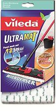 Vileda UltraMat Ersatzbezug für UltraMat Bodenwischer Saubere und Streifenfreie