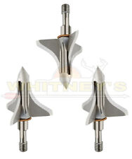Trophy Taker Shuttle T Loc 125gr Fixed 3 Blade Broadhead Cut On Contact T7004