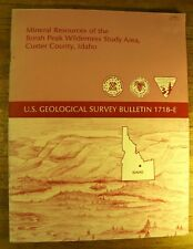 Mineral Resources Of The Borah Peak Wilderness Study Area, Custer Co. Idaho