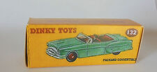 Repro Box Dinky Nr.132 Packard Convertible
