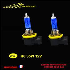 PROMO kit 2 h8 35w halogene xenon gaz 6000k  eclairage plus blanc *