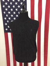 b53e8e5f2 Polo Ralph Lauren Lambswool Sweater Vest men s 2XL xxl italian yarn Black  17962