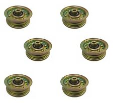 (6) IDLER PULLEYS for Buton-Goodall PAL0368A PL0368A Homelite Jacobson 552200