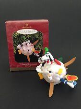 Hallmark Disney Goofy's Ski Adventure Christmas Keepsake Ornament 1997