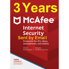 3 Year Mcafee Internet Security 2020 Unlimited Devices 2019 Download Version